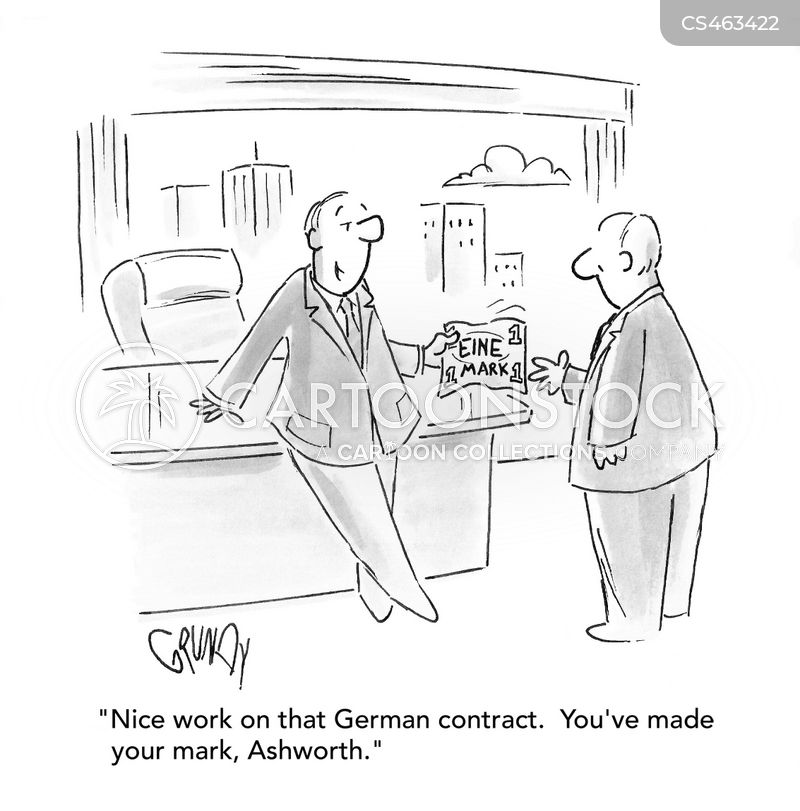 german mark cartoon