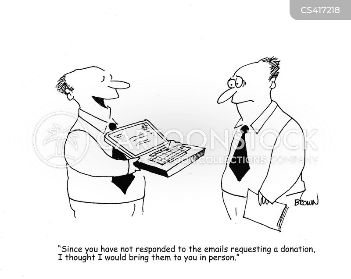 soliciting cartoon