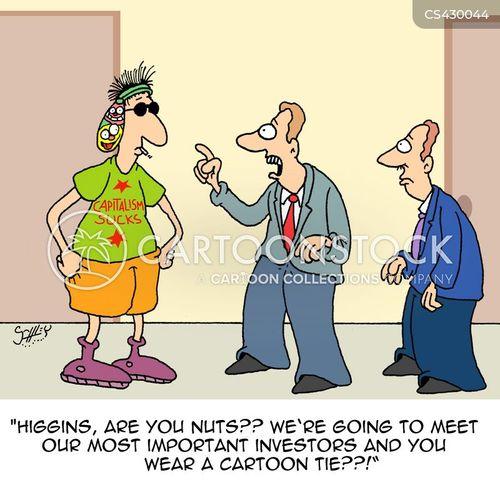 business wear cartoon