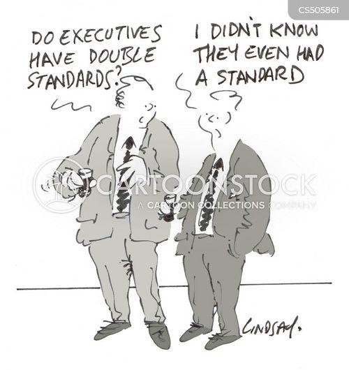 double-standard cartoon