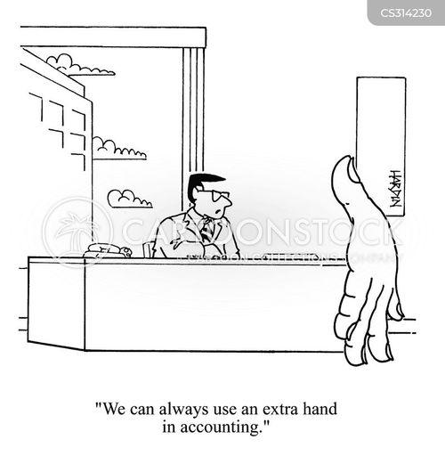 extra help cartoon
