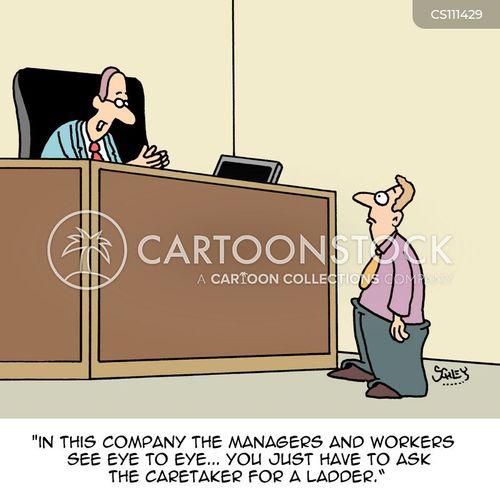 eye to eye cartoon