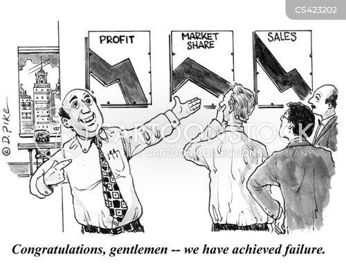 market share cartoon