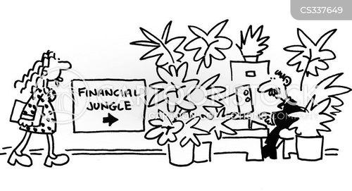 accounts books cartoon