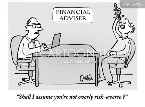 risk-taker cartoon