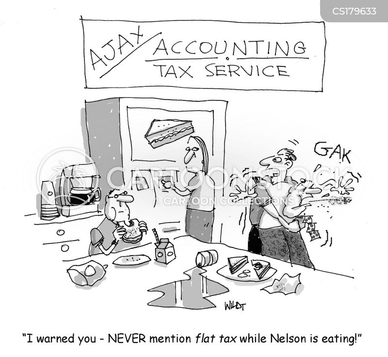 tax inspectors cartoon