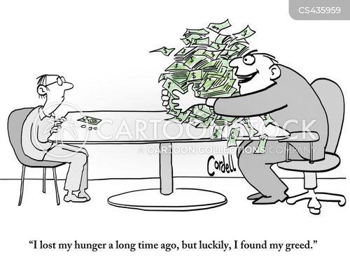 economic inequalities cartoon