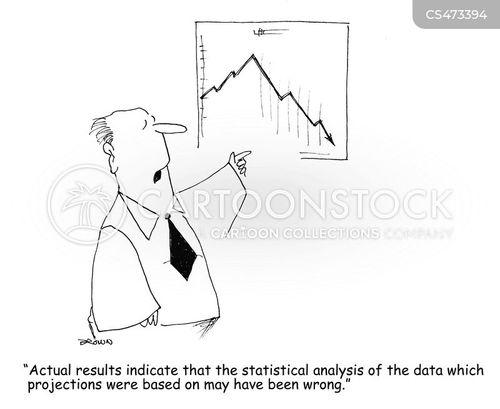 corporate projections cartoon