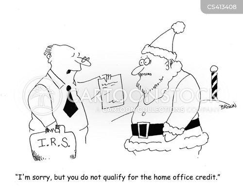 tax exemptions cartoon