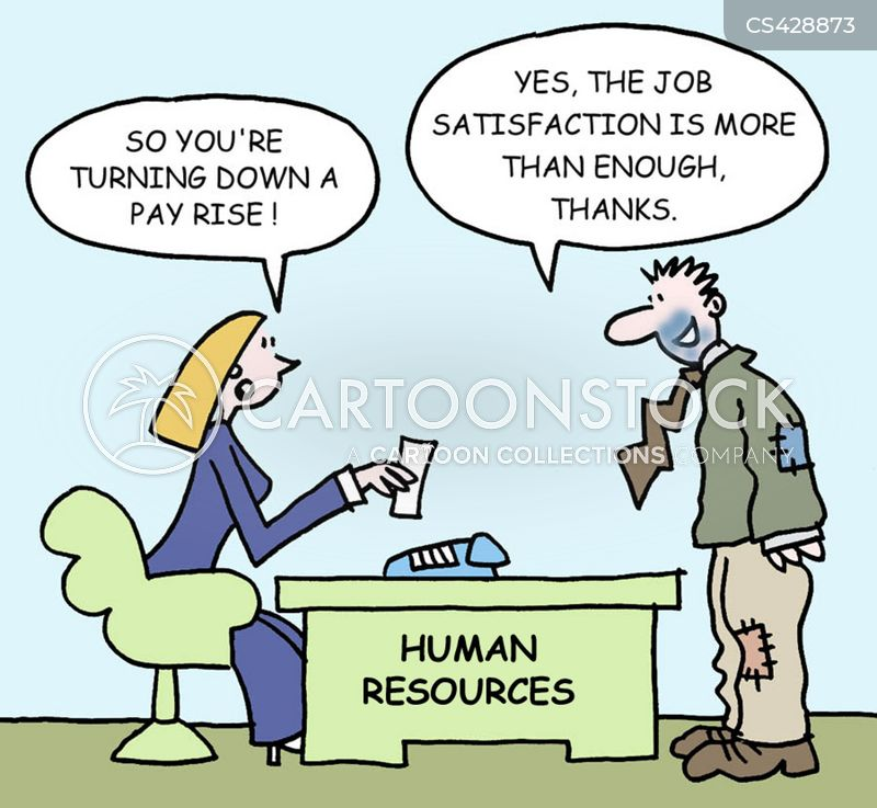 work satisfaction cartoon