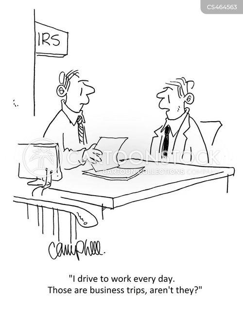 business expenses cartoon