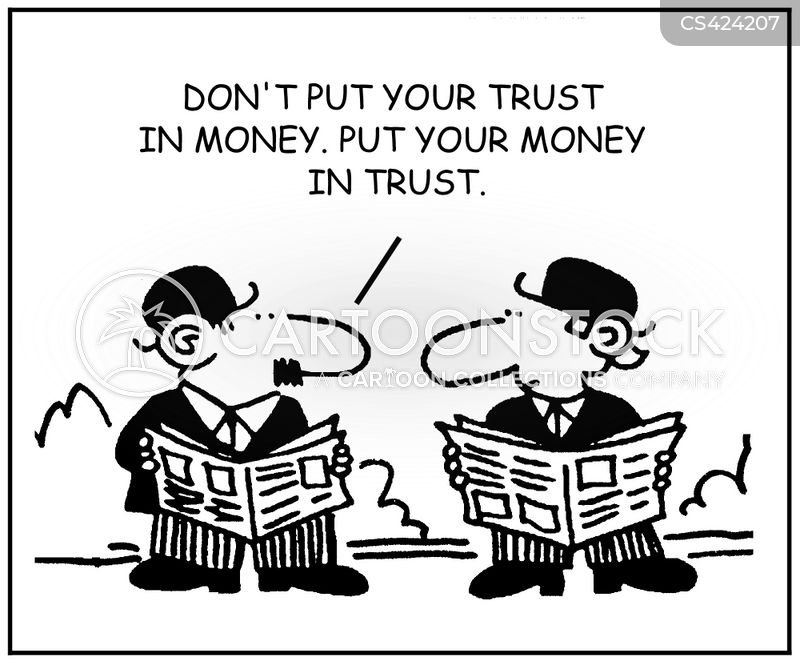 money advice cartoon