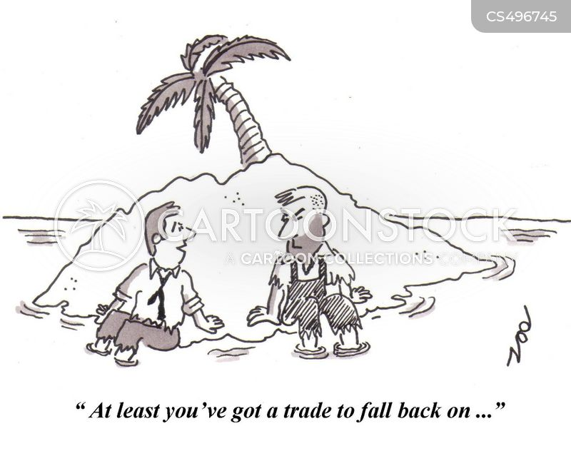 trade school cartoon