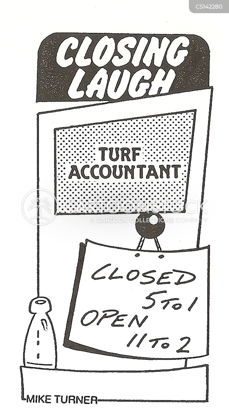 turf accountants cartoon