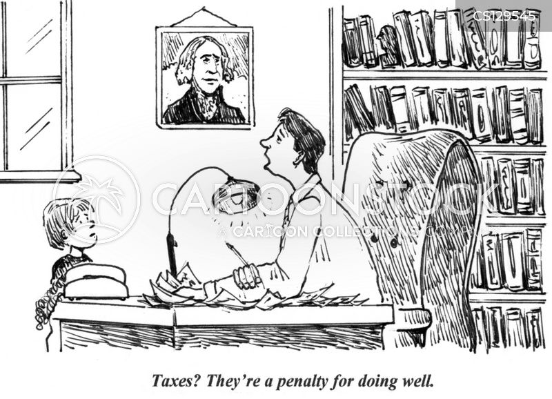 income tax cartoon