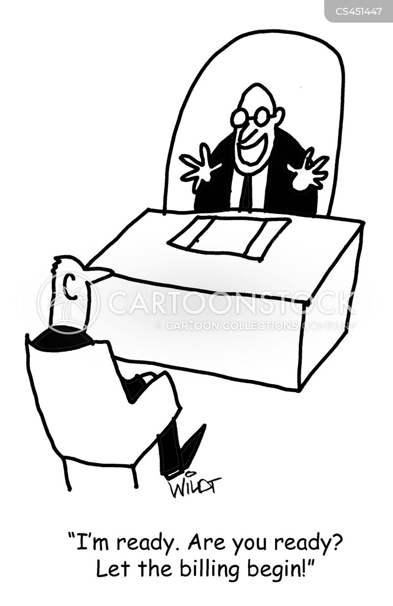lawyer fee cartoon