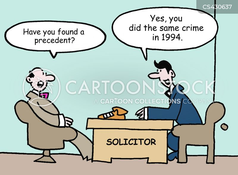 Legal Precedents Cartoons and Comics - funny pictures from ...