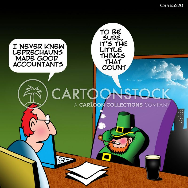 shamrocks cartoon
