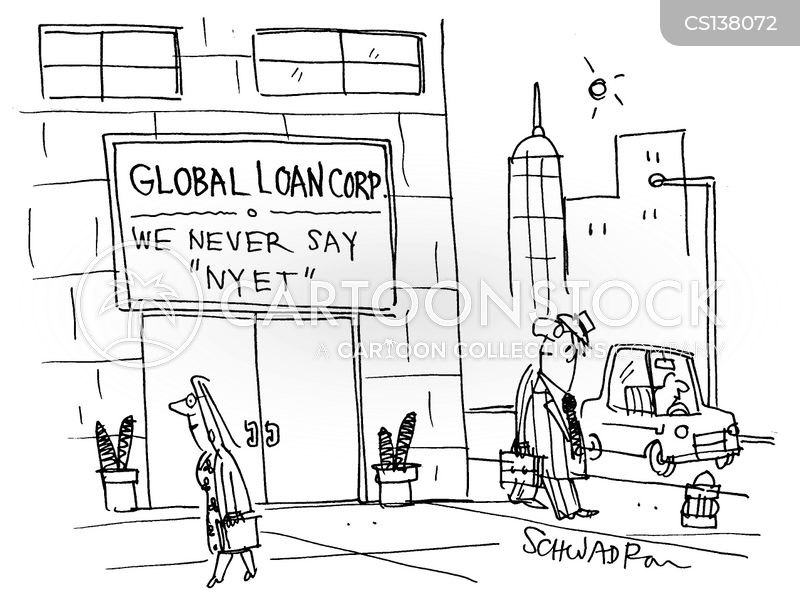 building societies cartoon