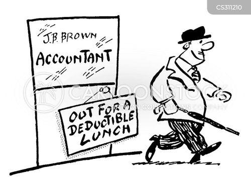 tax deductable cartoon