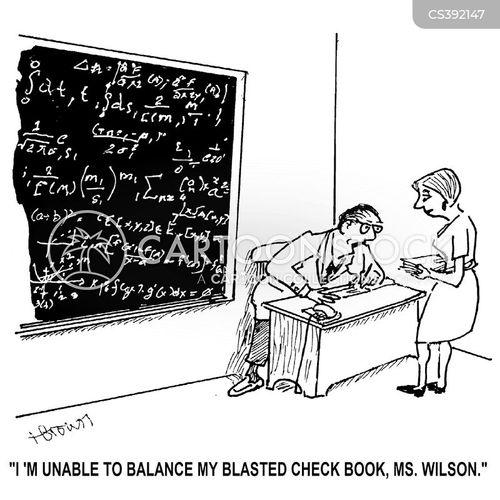 checkbooks cartoon