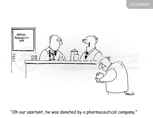 lab tech cartoon
