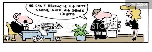 reconcile cartoon