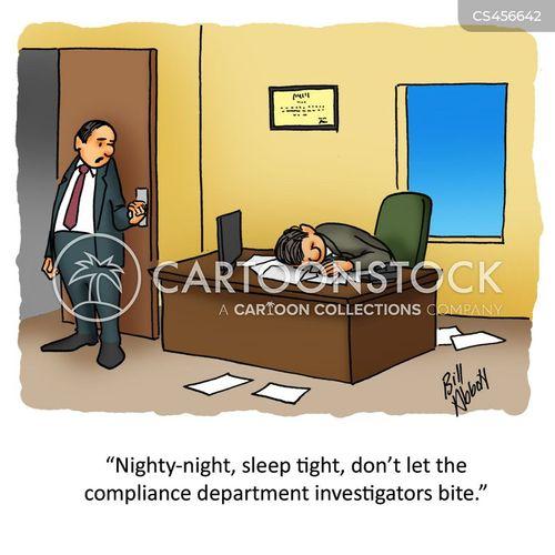 bed bugs cartoon