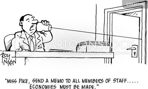 over zealous cartoon