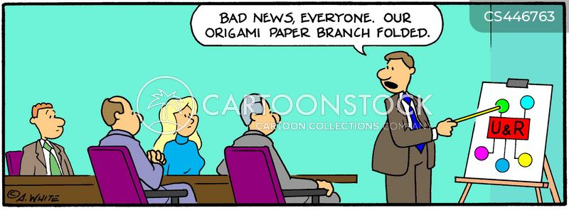 fold cartoon