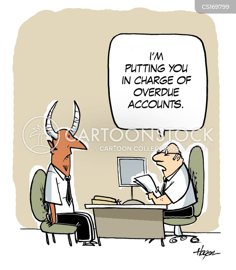 Debt Collector Cartoons And Comics