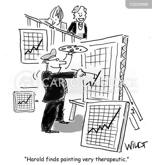 business growth cartoon
