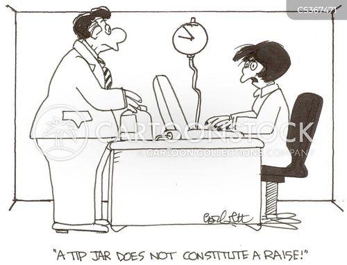 salary raise cartoon