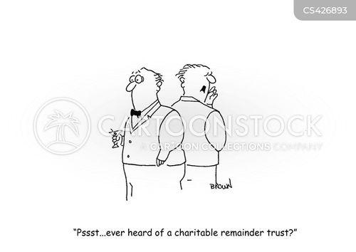 tax exempt cartoon