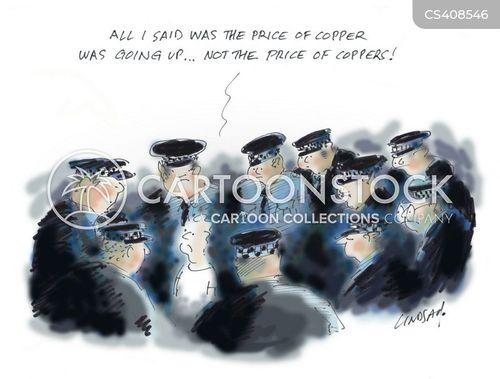police corruption cartoon