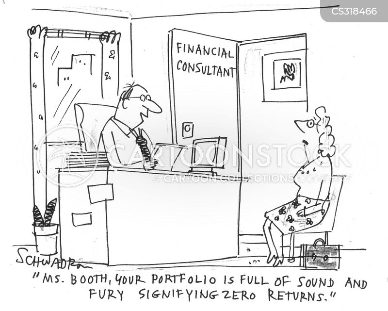 financial consultations cartoon