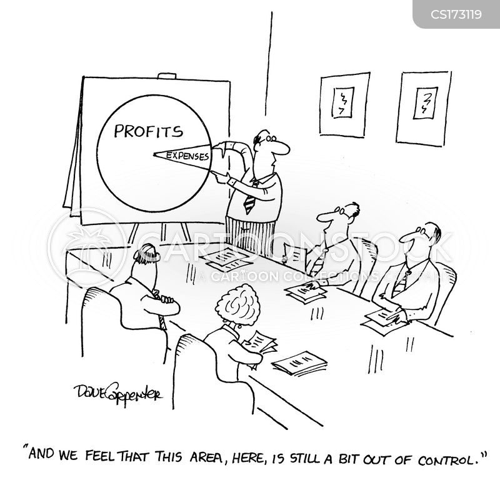 pie charts cartoon