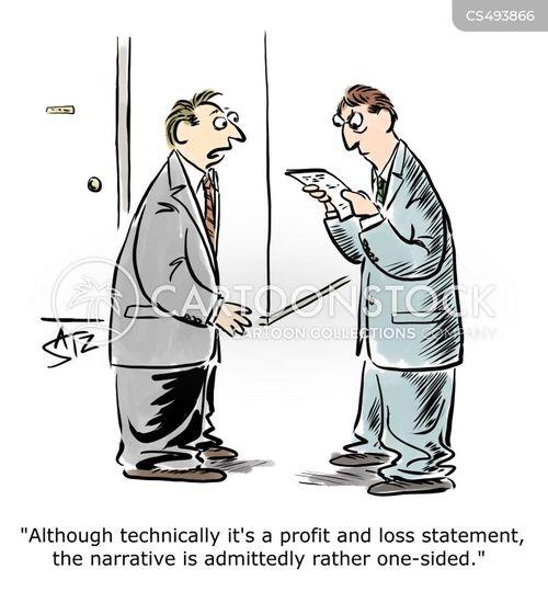 one-sided cartoon