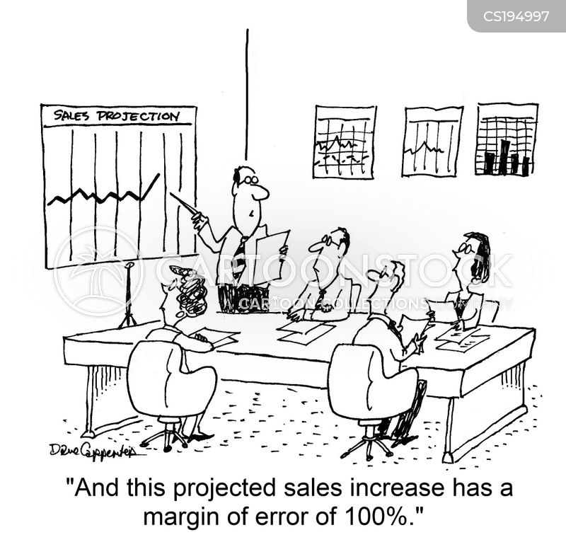 Sales Projection Cartoons and Comics - funny pictures from CartoonStock