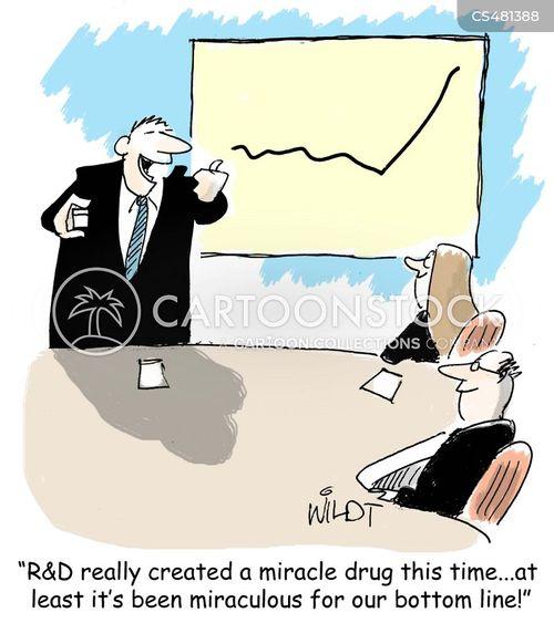 drug industry cartoon