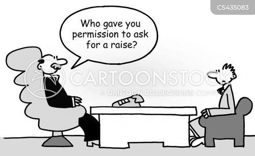 salary increase cartoon