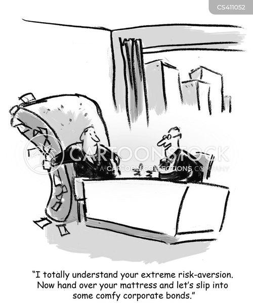 risk aversion cartoon