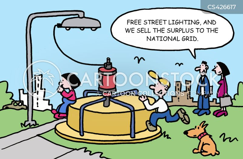national grid cartoon