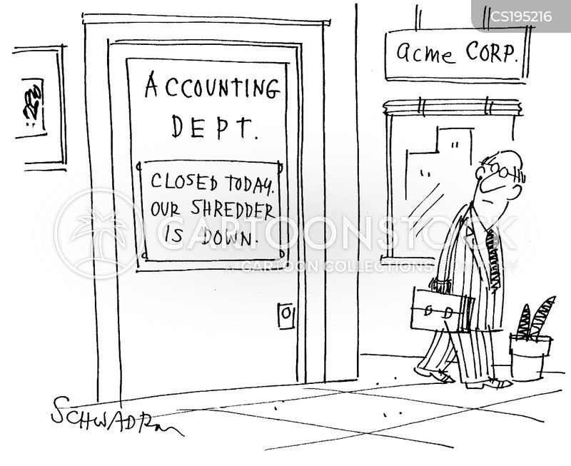 accounting department cartoon