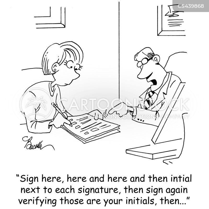 legal contracts cartoon