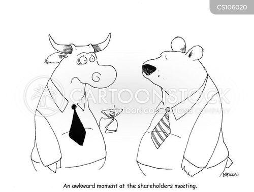 bearish cartoon