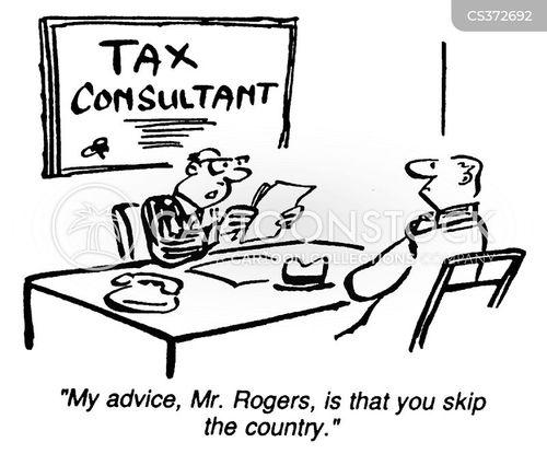 tax consultant cartoon