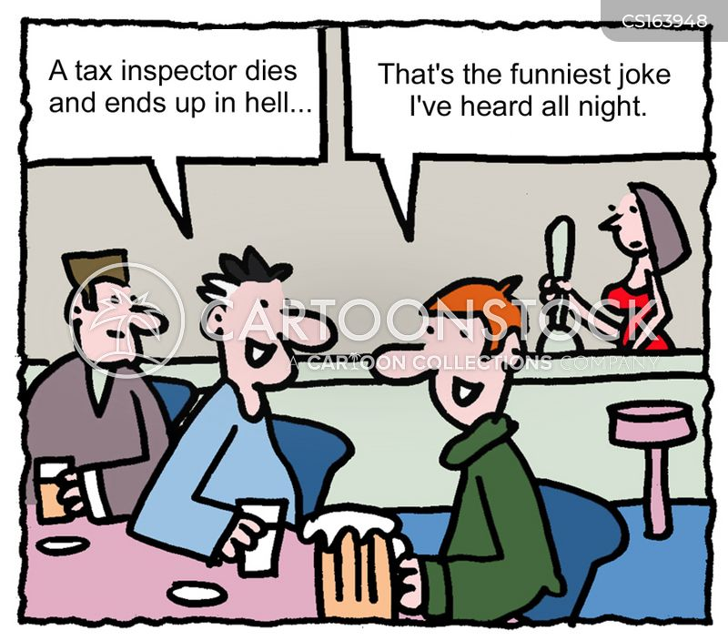 pub joke cartoon