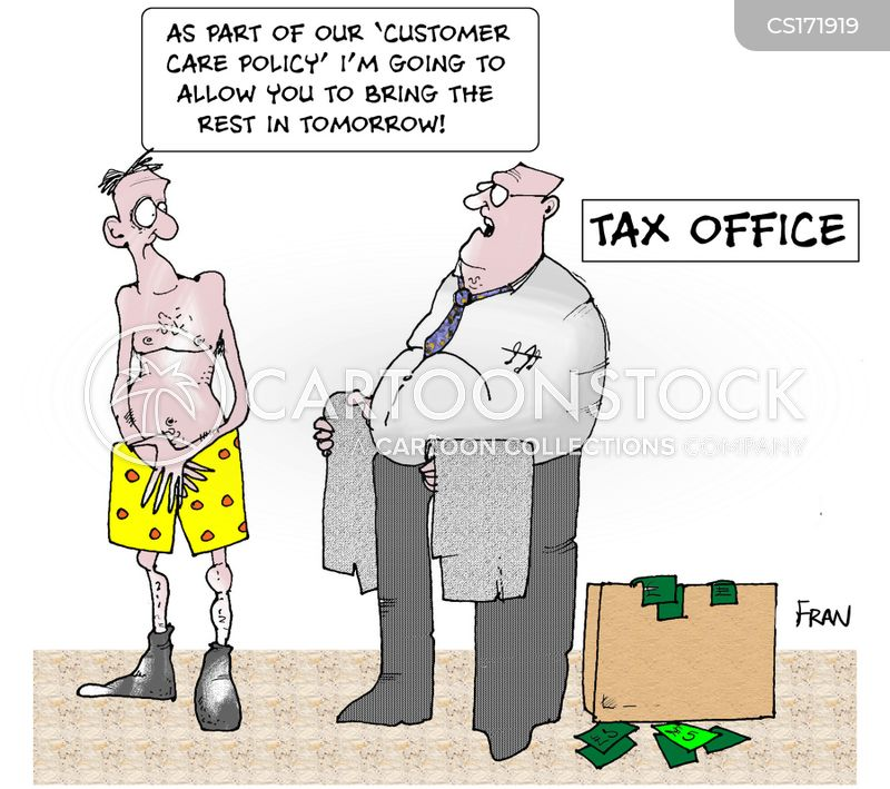 paying tax cartoons and comics funny pictures from cartoonstock