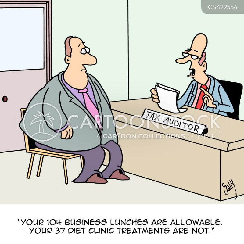 tax auditors cartoon